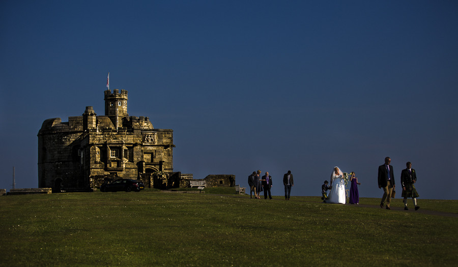 Pendennis Castle - Cornwall Wedding Photographer