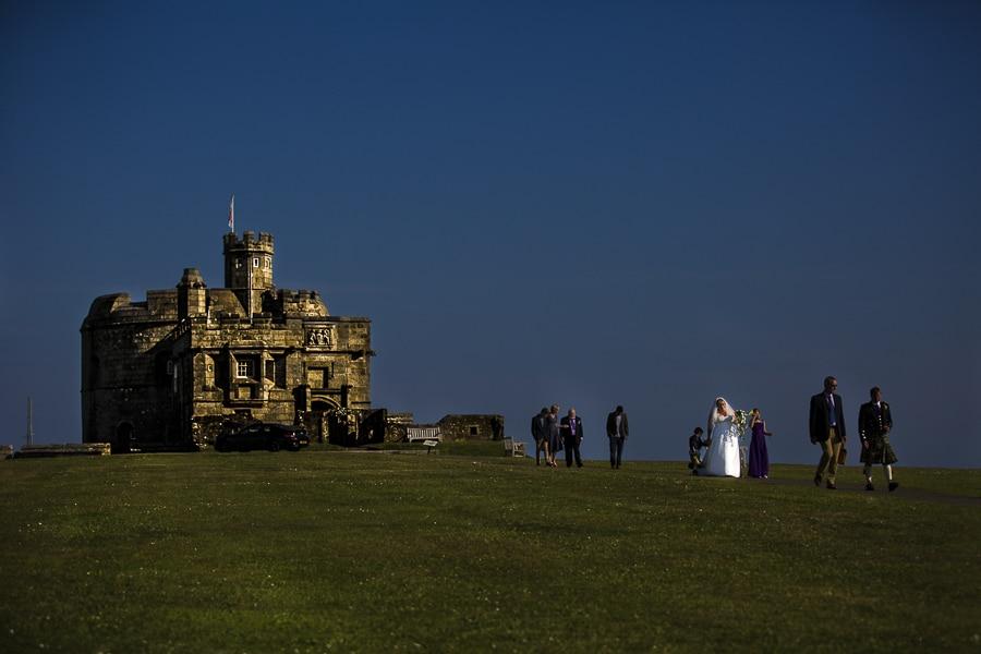Pendennis Castle wedding photographer