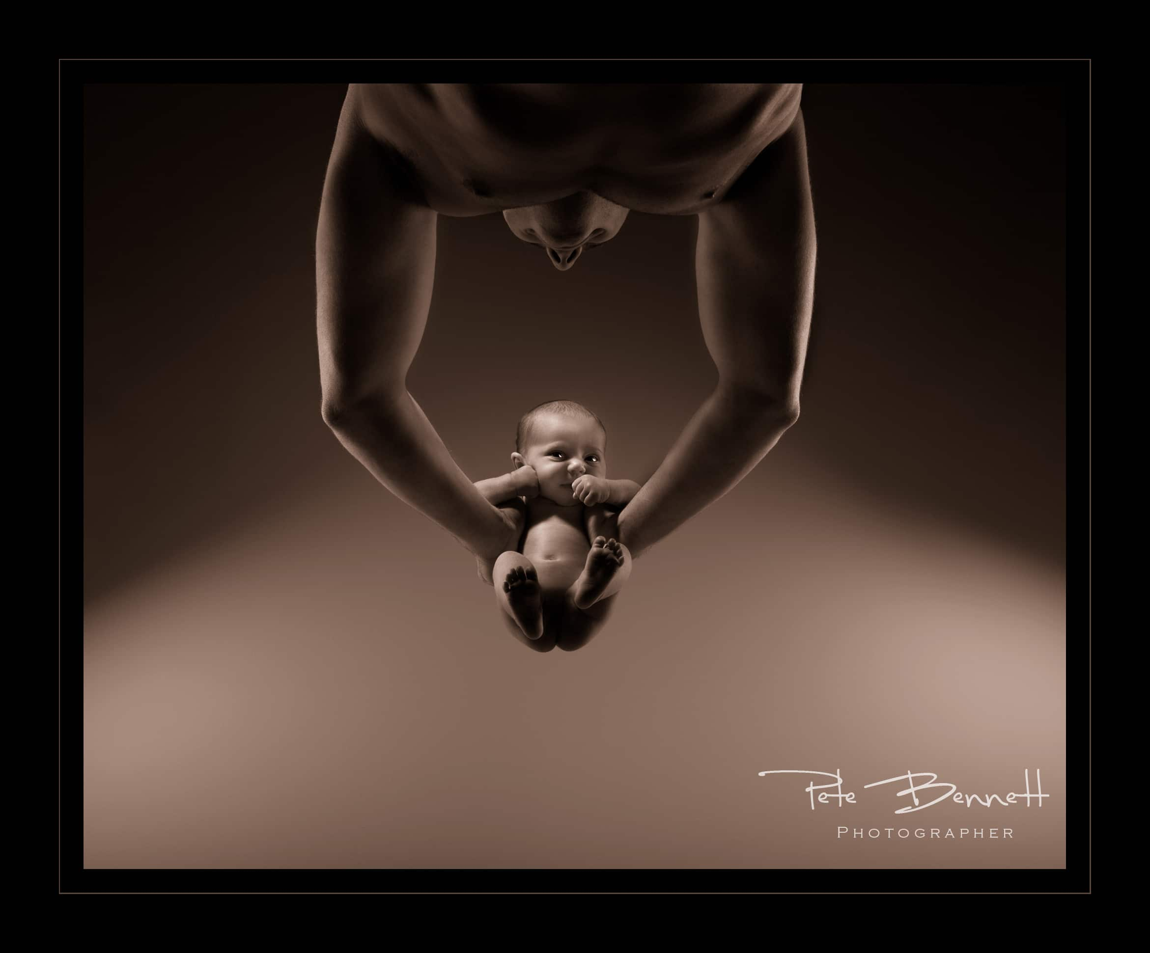 Pete Bennett photography SWPP GOLD Baby category August 2013