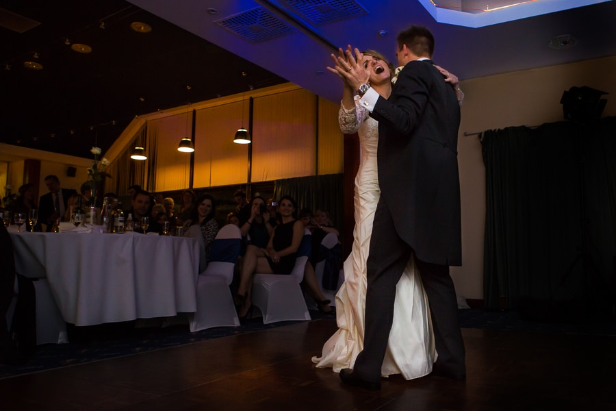 First dance wedding photographer
