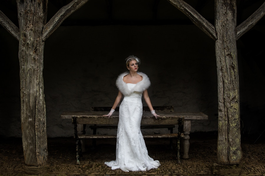 Hotel Endsleigh Bridal Photo shoot with Pete Bennett Photography