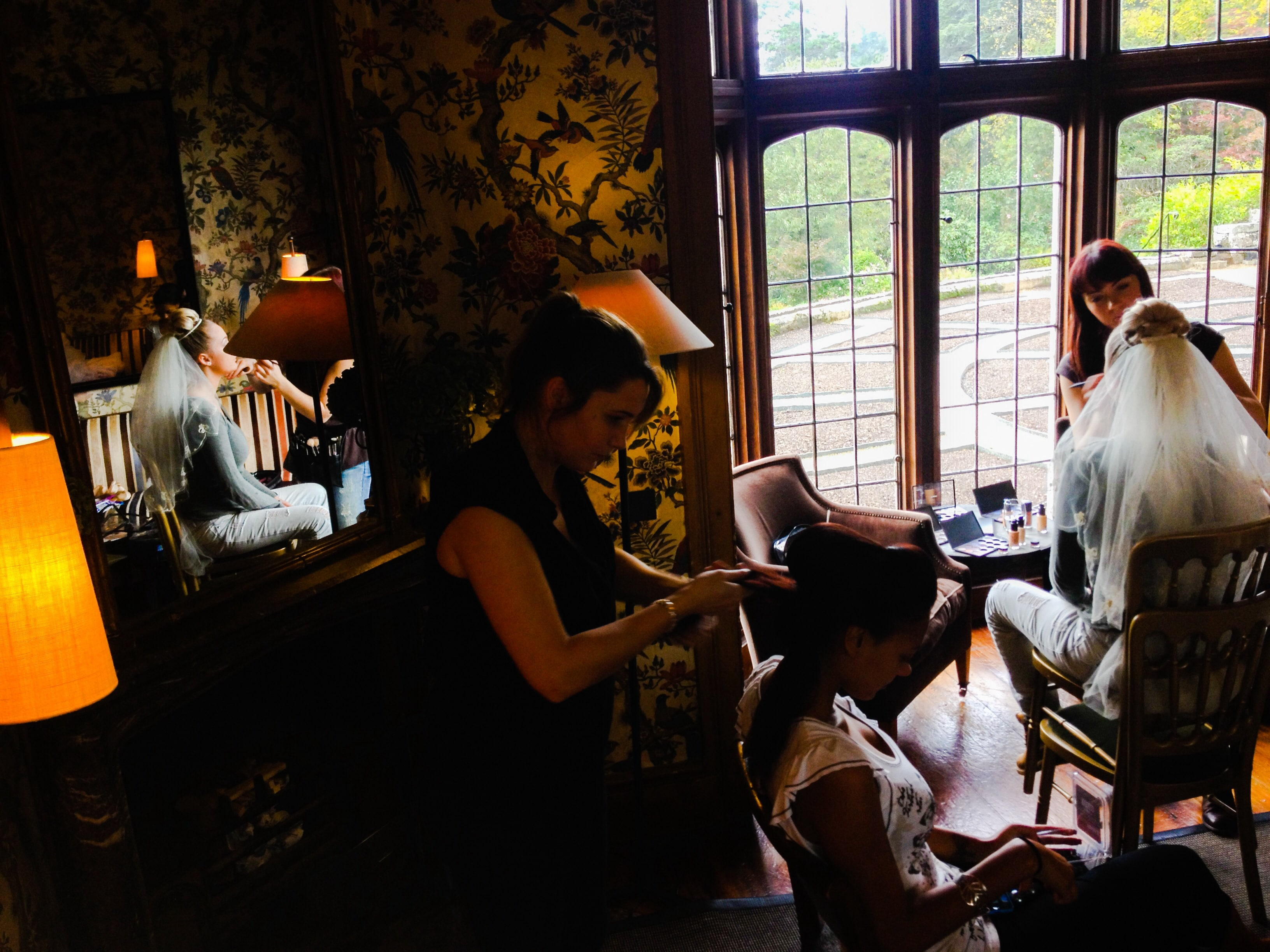 Hotel Endsleigh behind the scenes with Pete Bennett photography