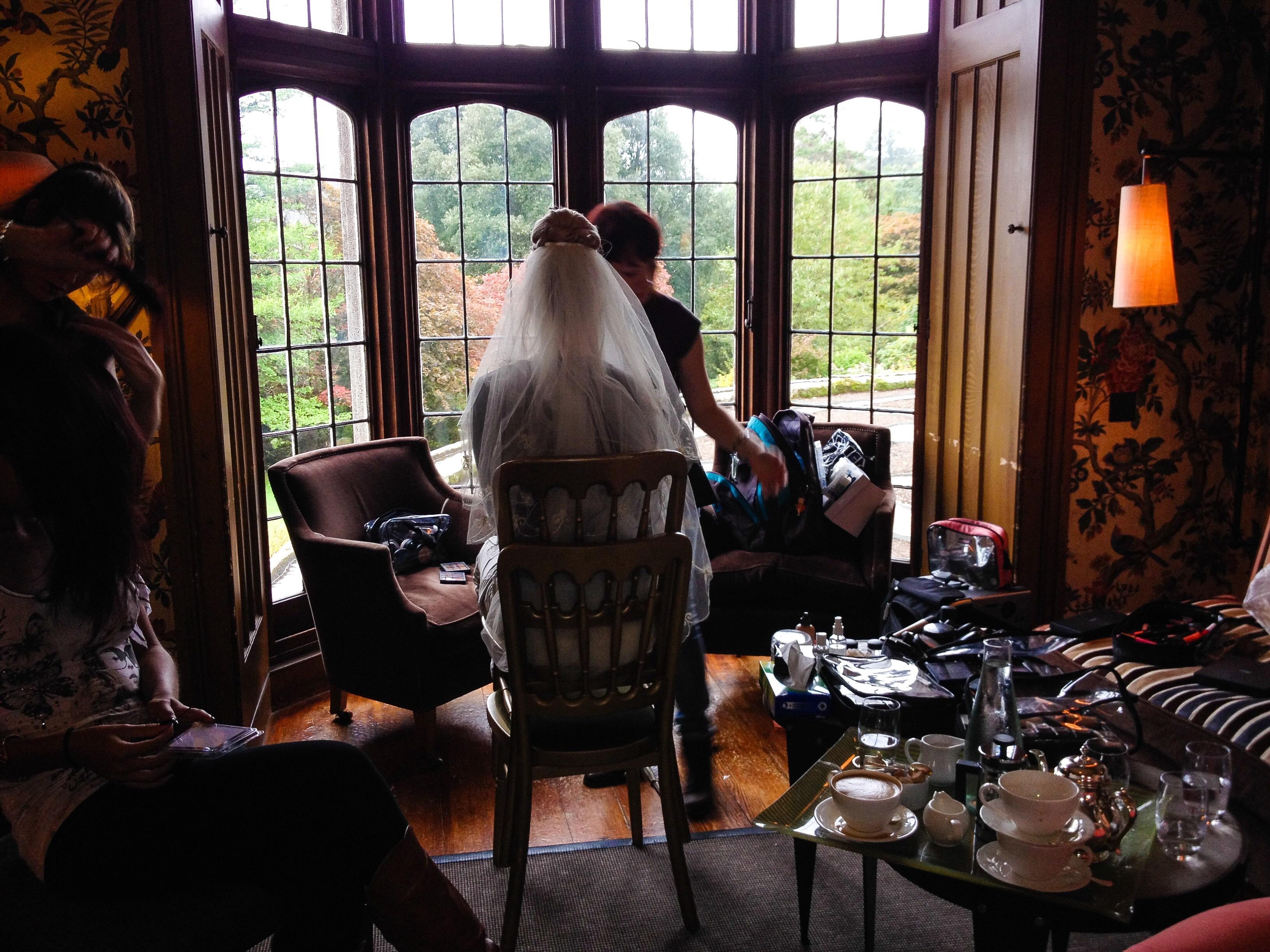 HOTEL ENDSLEIGH BRIDAL SHOOT