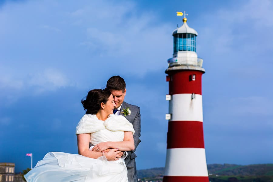 Helen and Dom Plymouth Hoe wedding photographer photography