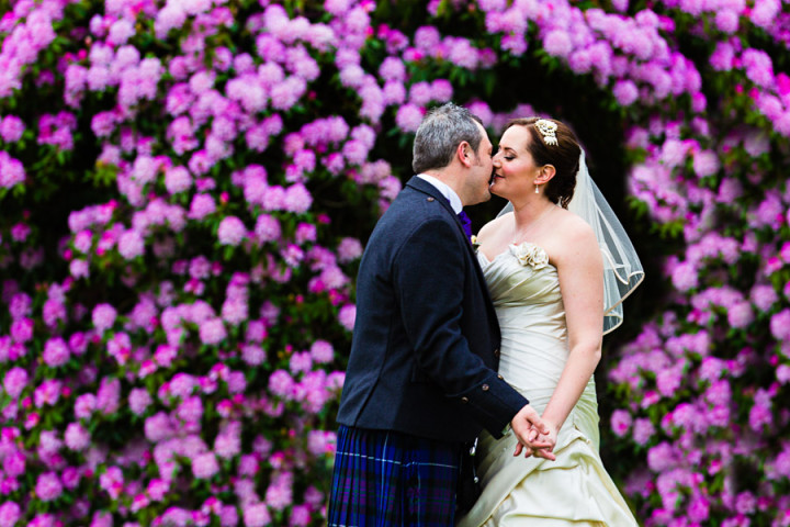 Elaine and Gareth Pentillie Castle Wedding Photographer