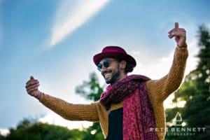 Indian Man at Port Eliot festival 2016-10