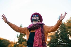 Indian Man at Port Eliot festival 2016-11