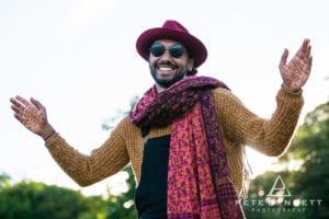 Indian Man at Port Eliot festival 2016-12