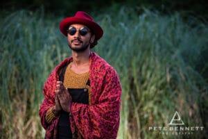 Indian Man at Port Eliot festival 2016-13