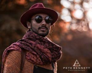 Indian Man at Port Eliot festival 2016-6