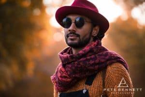 Indian Man at Port Eliot festival 2016-7