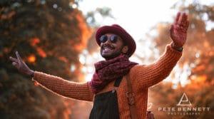 Indian Man at Port Eliot festival 2016-8