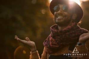 Indian Man at Port Eliot festival 2016-9