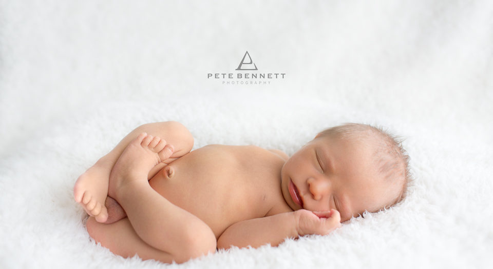 Newborn Photography - 4 Day old baby Cruz