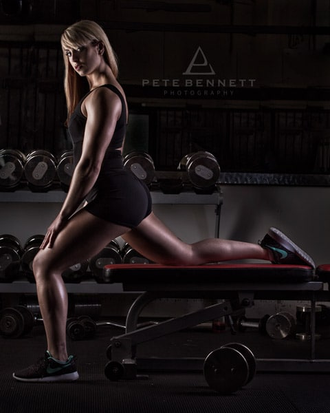 Sportrait and fitness photoshoot figure competitor fitness photography