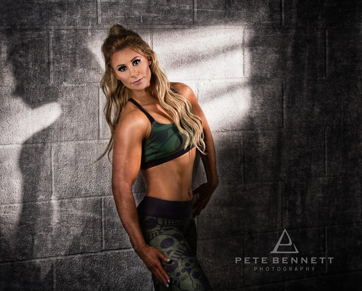 Fitness photoshoot with Vicki Terry