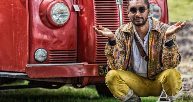 Portrait Shoot of Indian Man - Port Eliot Festival 2017
