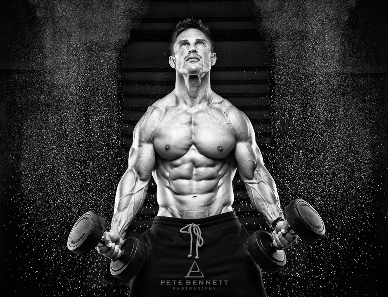 fitness photography male fitness model black and white physique photography