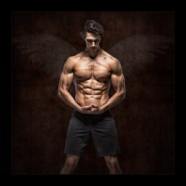 James Jordan Plymouth in a Gym Photo shoot NPS Silver awarded