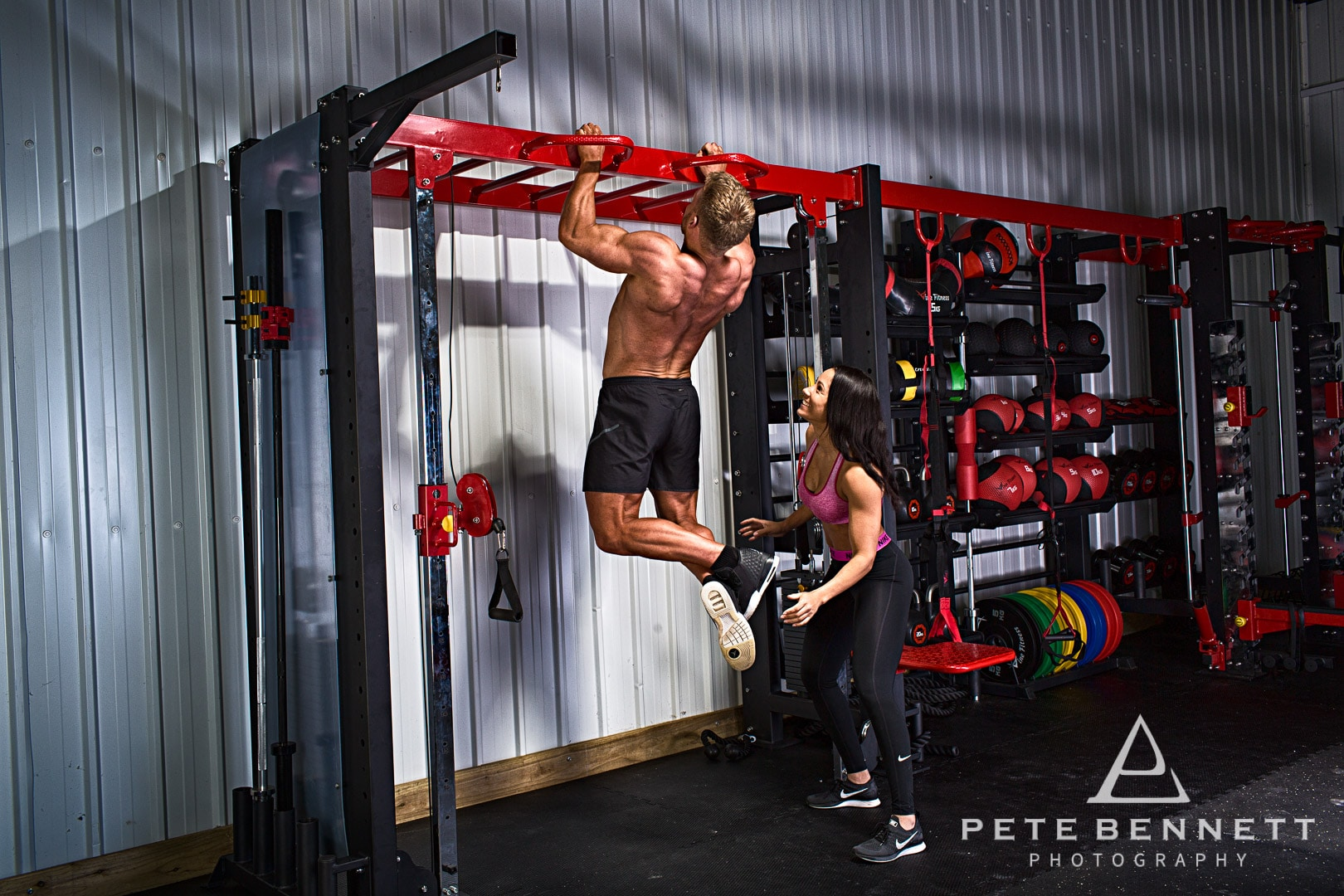 commercial fitness photography