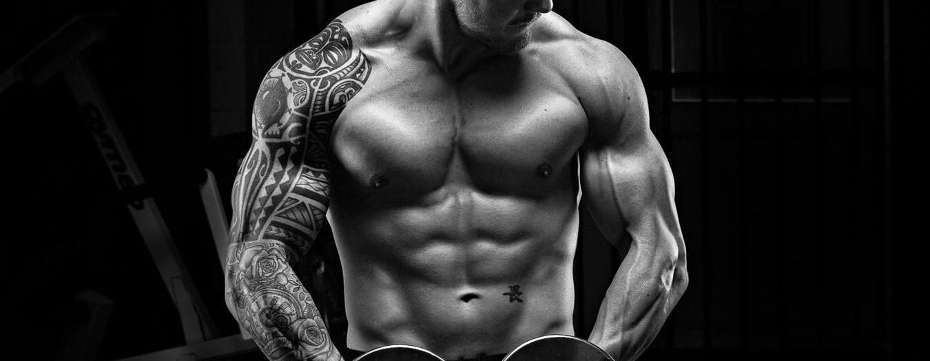 Body Building Photoshoot with Dean Dark at Pro Gym Saltash