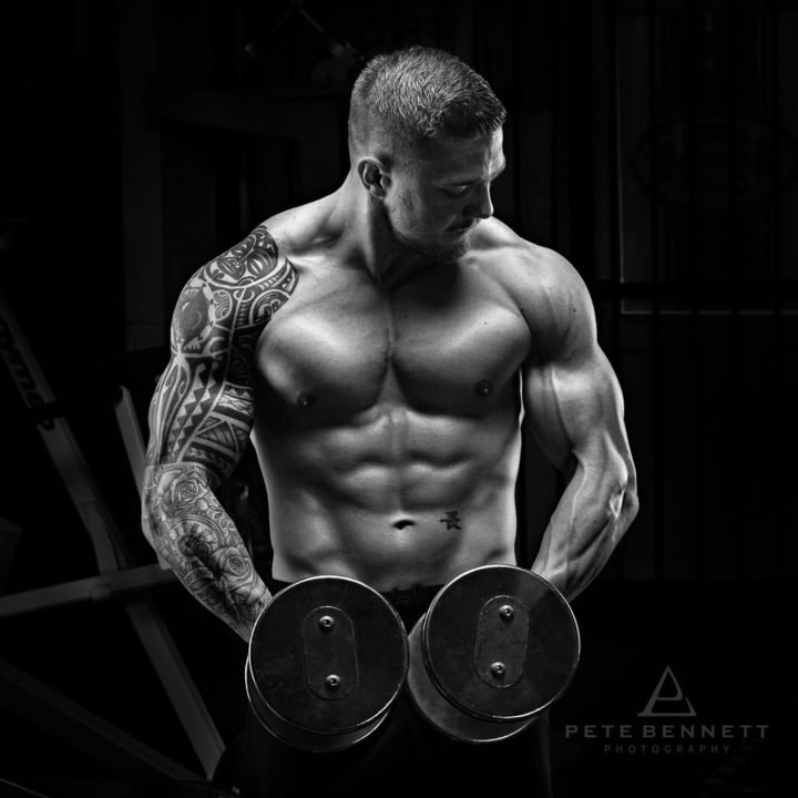 Body Building Photoshoot with Dean Dark at Pro Gym Saltash