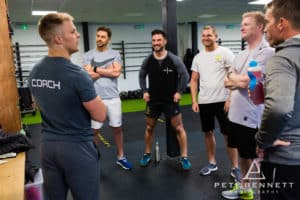Mont Blanc Challenge team in Imperium Gym