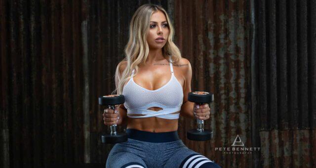 Transformation Fitness Photoshoot - Holly Hagan