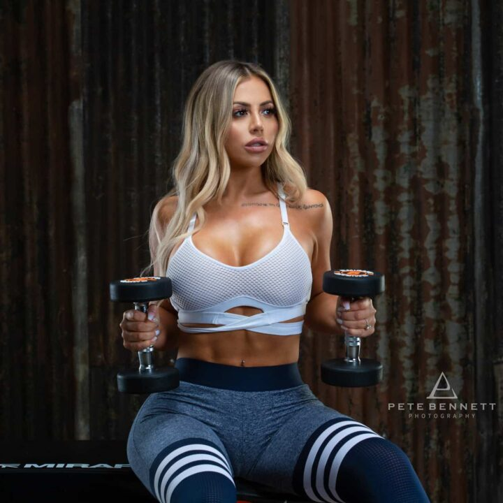 Transformation Fitness Photoshoot - Holly Hagan