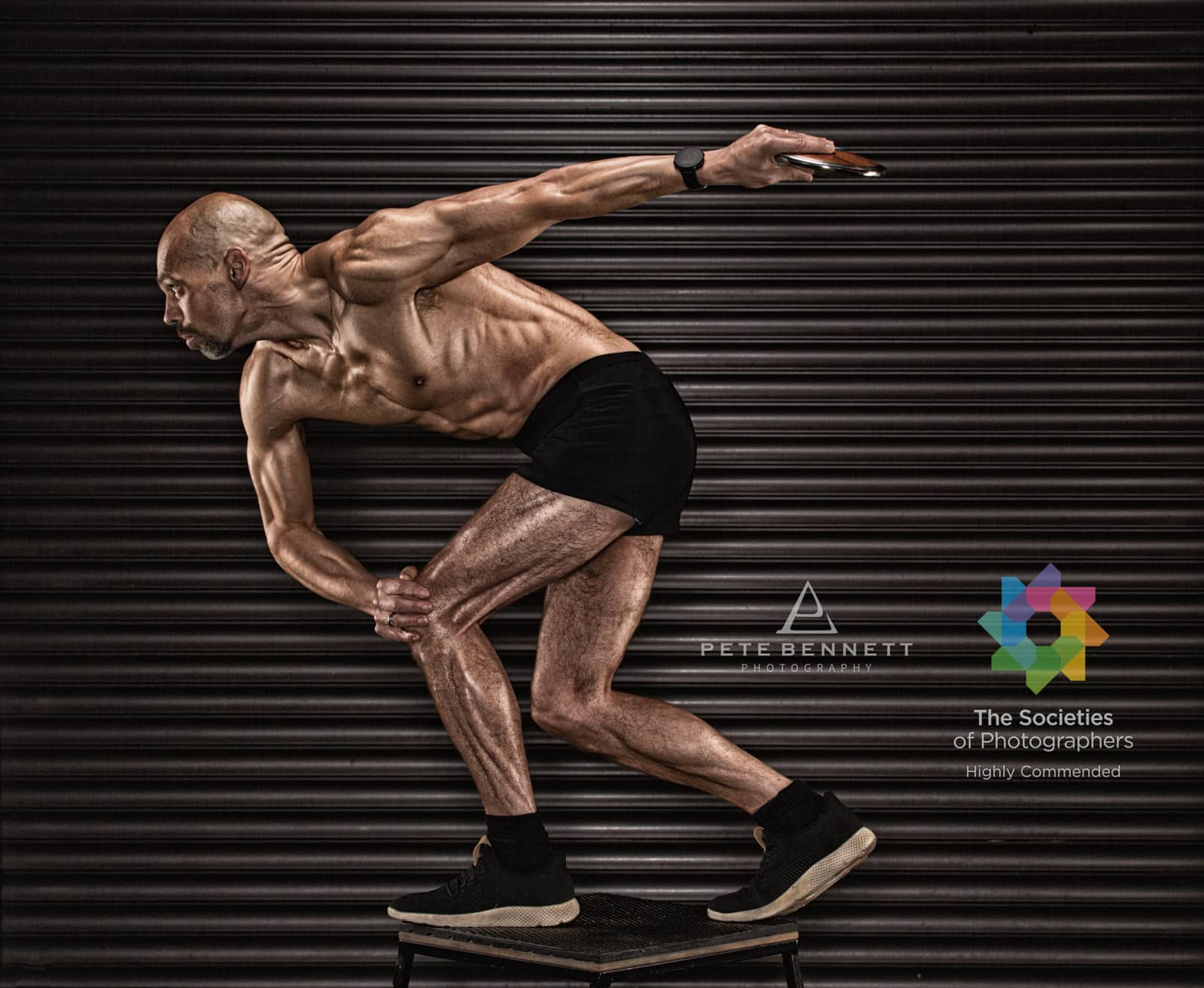 Physique photography fitness image